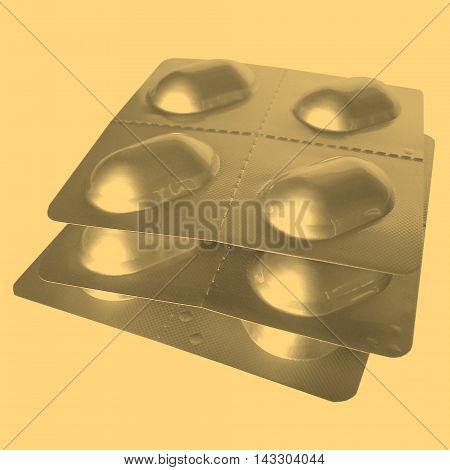 Medical Pills Vintage