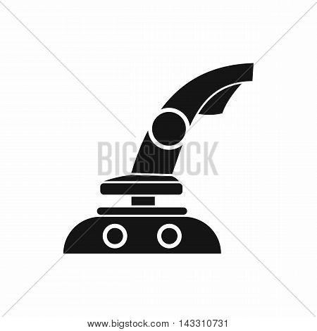 Joystick icon in simple style on a white background