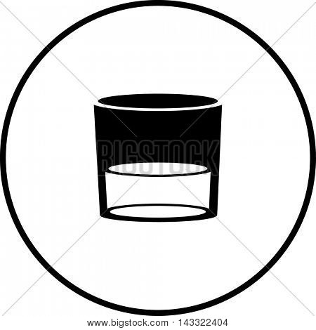 alcoholic drink glass symbol