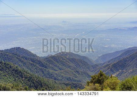 Beautiful Landscape Around Mt. Wilson
