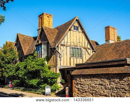 Hall Croft In Stratford Upon Avon (hdr)