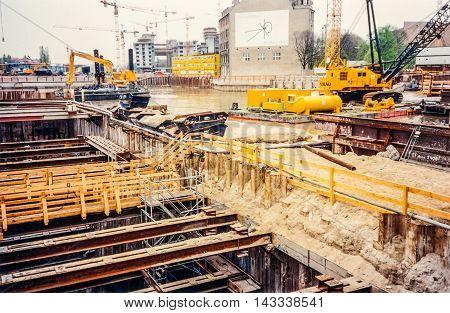 Potsdamer Platz Building Site (hdr)