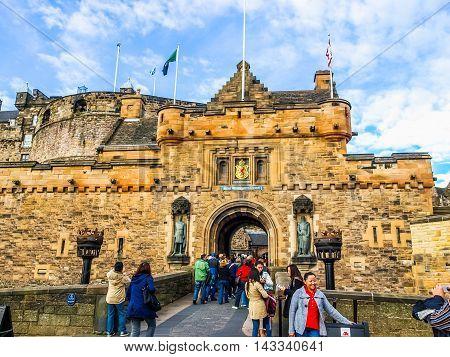 Edinburgh Castle (hdr)