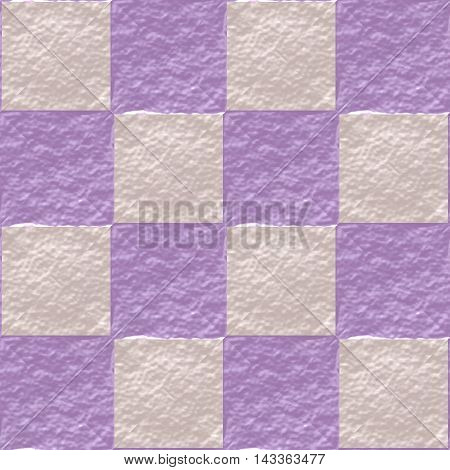 Floor tiles seamless generated texture pattern background, 3D illustration