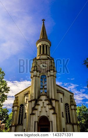 Church of Sacre-Coeur in Bangoles De L'Orne Normandy, France
