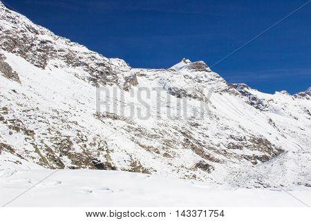 Mountains in winter - Mölltaler Gletscher, Austria
