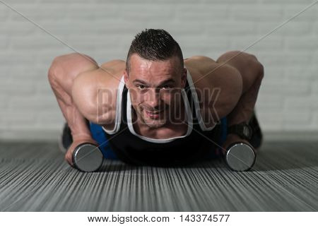 Pushups With Dumbbells