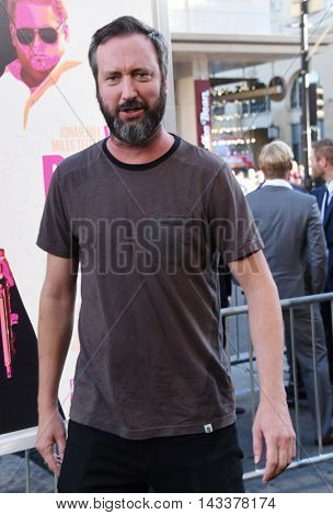 LOS ANGELES - AUG 15:  Tom Green arrives to the