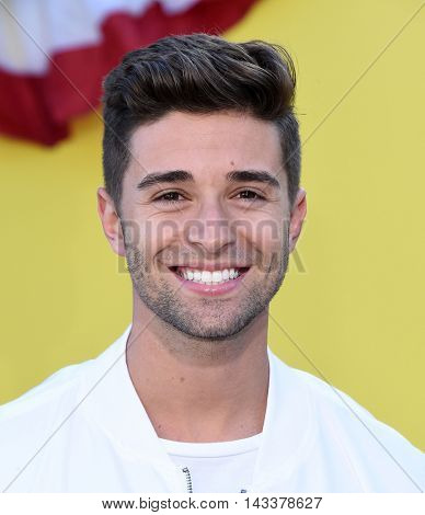 LOS ANGELES - AUG 09:  Jake Miller arrives to the