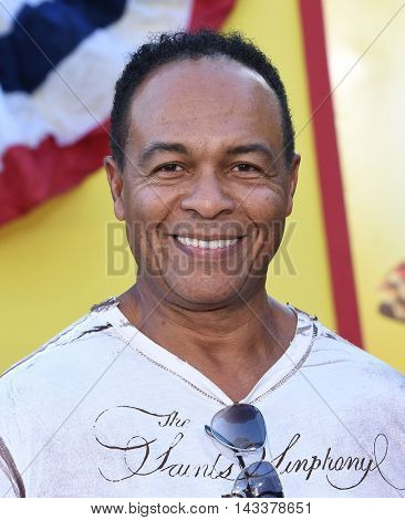 LOS ANGELES - AUG 09:  Ray Parker Jr. arrives to the
