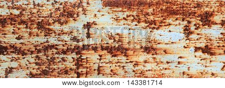 Metal Old Rusty Wall As A Grunge Background