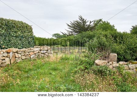 photography of a rural outdoor scenery in Brittany France