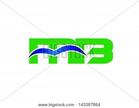 Letter M and B logo vector, bm logo