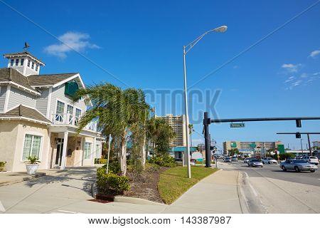 Daytona Beach in Florida at Port Orange of USA
