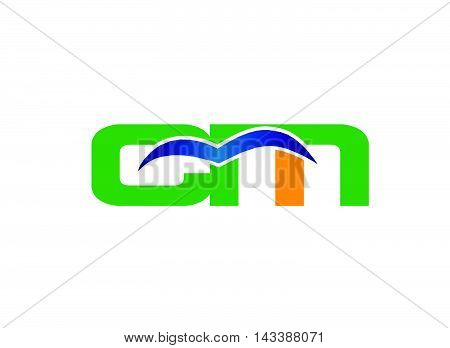 Letter M and C logo vector design