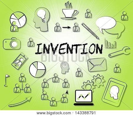 Invention Icons Means Innovating Invents And Innovating