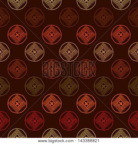 Abstract colorful background. Seamless pattern. Graphical. Warm colors. Dark abstract texture. Plain backdrop for decoration, wallpaper, surface textures.