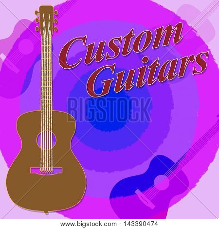 Custom Guitars Shows Bespoke Guitar Made To Order