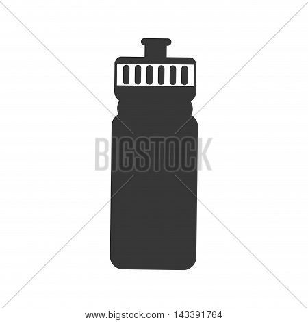 water bottle drink beverage fresh icon. Flat and Isolated design. Vector illustration