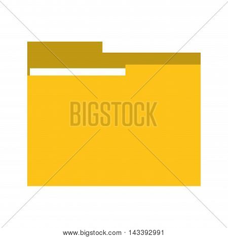 file folder document planner office icon. Flat and Isolated design. Vector illustration