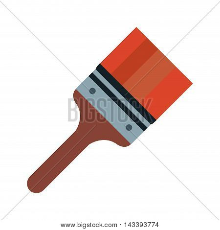 paint tool construction repair icon. Flat and Isolated design. Vector illustration