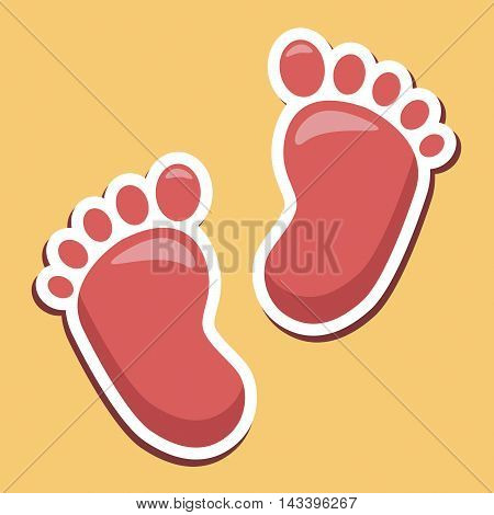 Baby Feet Indicates Infant Parenting And Newborns