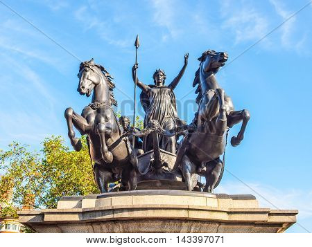 Boadicea Monument London Hdr