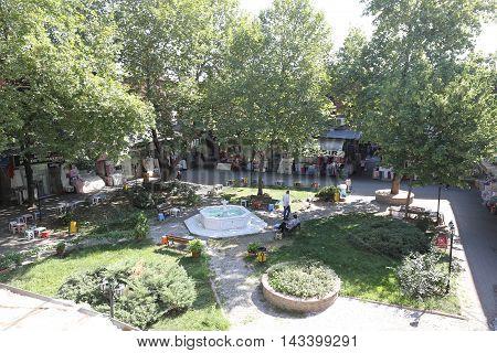 Eski Ipek Han In Bursa City, Turkey