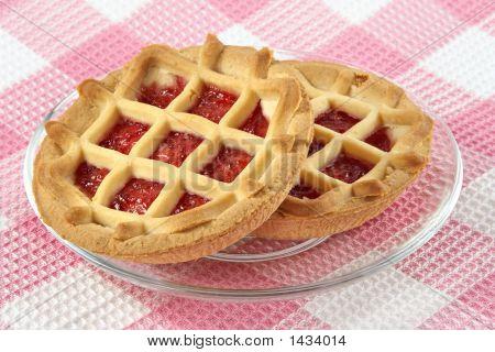Tartlet With Cherry Jam