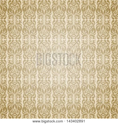 Seamless Wallpaper Retro Pattern
