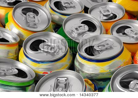 Empty cans