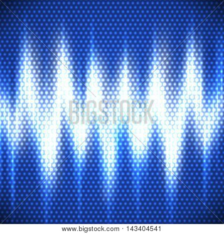 Abstract Background With Electric Discharge