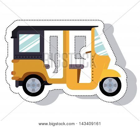 moto taxi service isolated icon vector illustration design