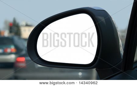 Left side rear view mirror