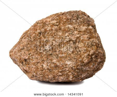 Rock isolated