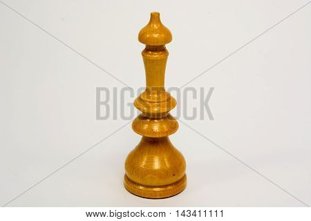 Old Wooden Chess Piece