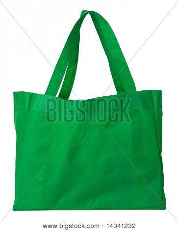Grün, wiederverwendbare Einkaufstasche