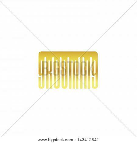 Vector dog beauty grooming salon logo. Vector pet grooming logo. Dog groomer logo. Dog beauty salon logo.