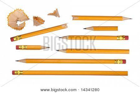 Colección de lápices