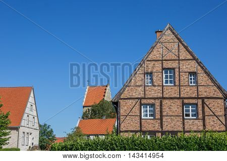 Half Timbered House In The Kommende Quarter Of Steinfurt