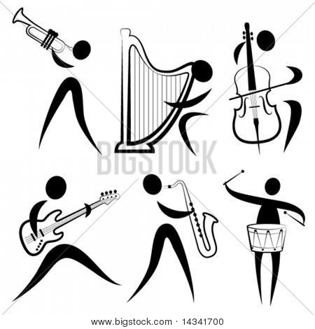 musician symbol set