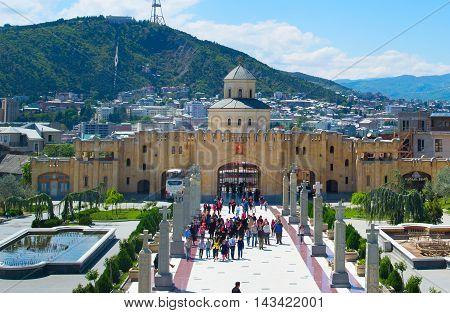 Sameba Cathedral. Tbilisi, Georgia