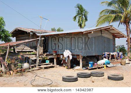 Simple Thai farmhouse