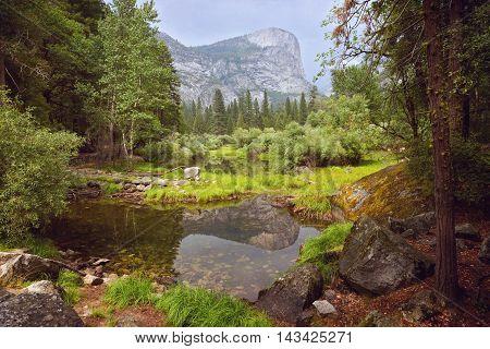 Yosemite National Park landscape in California USA