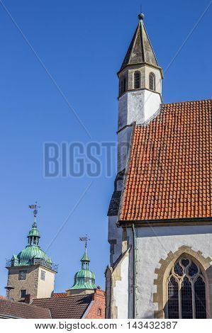 Tower Of The Small Church Of Steinfurt