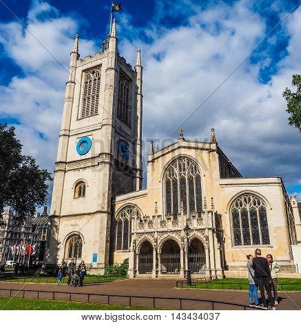 St Margaret Church In London (hdr)