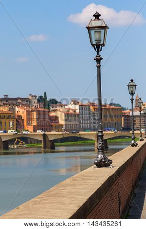 Riverside Of The Arno In Florence