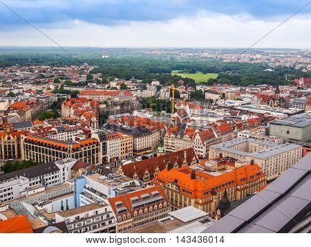 Leipzig Aerial View (hdr)