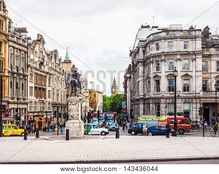 Parliament Street In London (hdr)