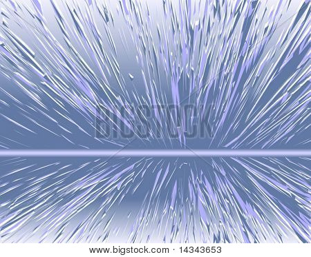 Abstract editable vector background of an expanding design